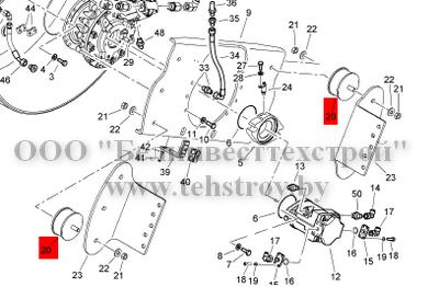 Амортизатор вальца (подушка виброопоры) 06119392 Bomag